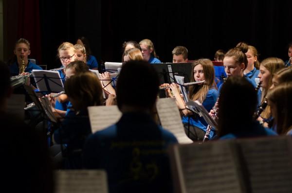 Jungmusiker beim Frühkonzert 2015 im Kurhaus in Bad Rappenau