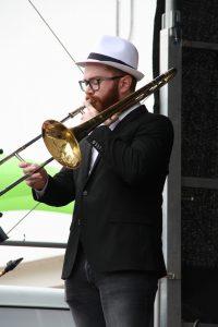 Alexander Hodel beim Stadtfest 2018