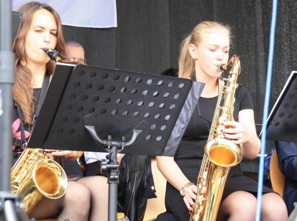 Corina Losert und Sophia März