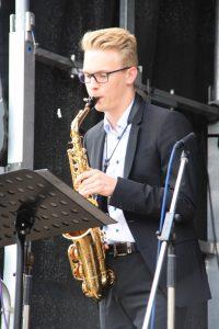 Janik Last beim Stadtfest 2018