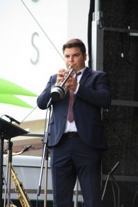 Louis Krasniqi beim Stadtfest 2018